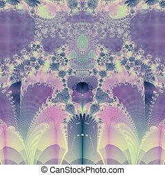 紫色, 春
