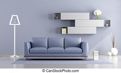 紫色, 暮らし, 白い部屋