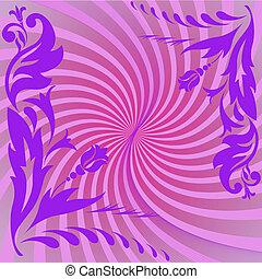 紫色, 構成