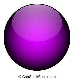 紫色, 球