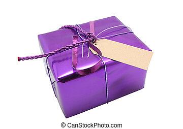 紫色, 禮物