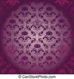 紫色, 背景。, 植物群, 装饰品