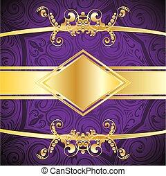 紫色, 装飾用である, 背景