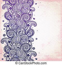 紫色, 装飾
