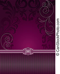 紫色, 装飾, 背景