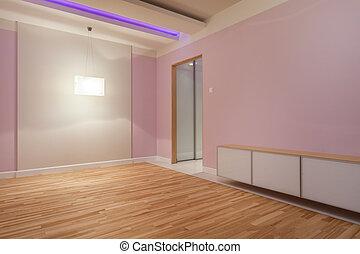 紫色, 部屋, ∥で∥, ネオンライト