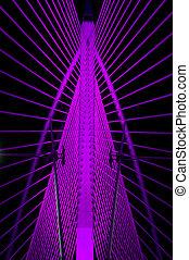 紫色, 鋼鉄, 構造