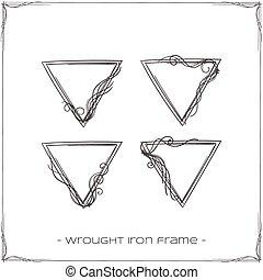 細工された鉄, フレーム, 1(人・つ)