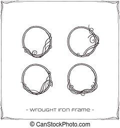 細工された鉄, フレーム, 2