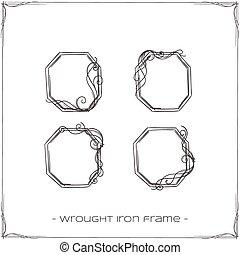 細工された鉄, フレーム, 3