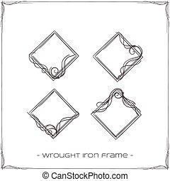 細工された鉄, フレーム, 4
