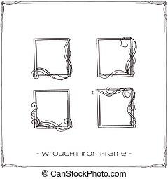 細工された鉄, フレーム, 5