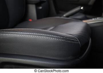細節, ......的, 新, 現代, 汽車內部
