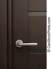 細節, ......的, 木制的門