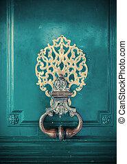 細節, ......的, 門, 裝飾