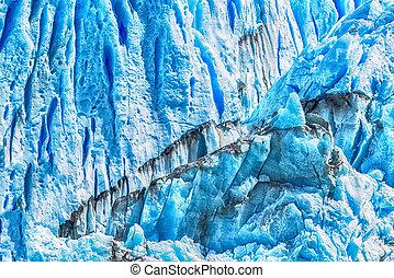 細節, ......的, perito, moreno 冰川, 在, 阿根廷