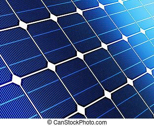 細胞, の上, 太陽, 終わり, 電池