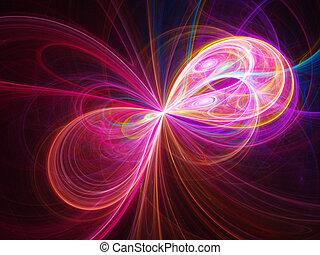 細胞, 光線, 流れ