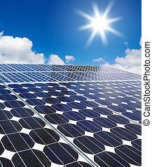 細胞, 太陽, 配列, 太陽, に対して
