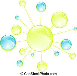 細胞, 抽象的, 微生物学