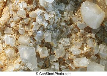細部, の, 小さい, calcite, 鉱物