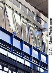 細部, の, 現代建物