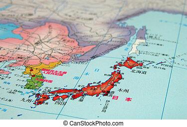 細部, japan-nihon-map