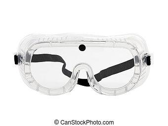 終わり, 保護である, メガネ, の上