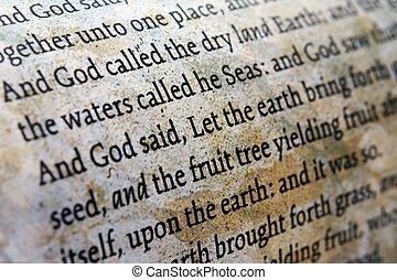 終わり, 聖書, の上