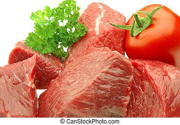 終わり, 肉, の上