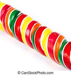 終わり, lollipop, 自然, の上, 色