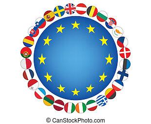 組合, ヨーロッパ, 印