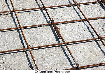 組立て式に作られる, 鉄, 構造