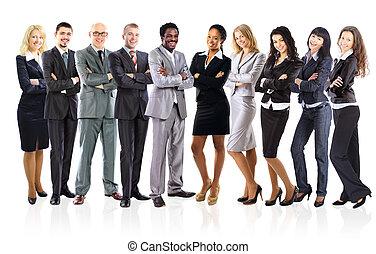 組, 商業界人士