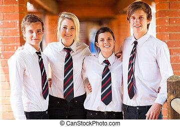 組, ......的, 高中, 學生