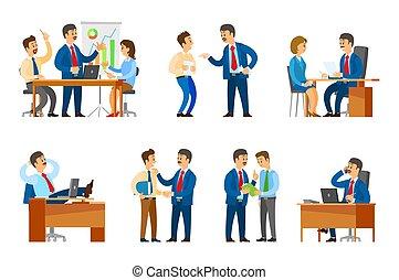 経営者, サラリーマン, 上司, 責任者, セミナー