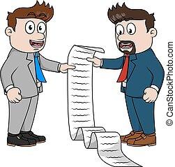 経営者, 合意, 契約, 人