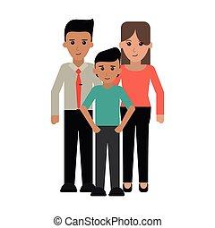 経営者, 親, 家族, 息子