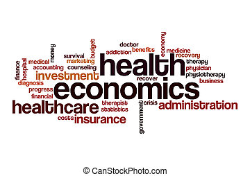 経済学, 雲, 単語, 概念, 健康