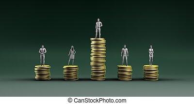 経済, 不均等