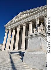 結合した州最高裁判所, 中に, washington d.c.