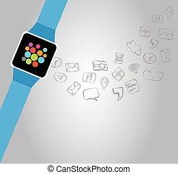 結合性, smartwatch
