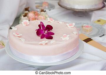 結婚式のケーキ