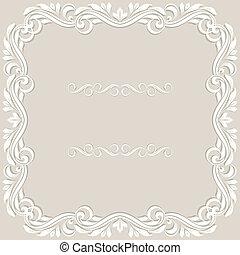 結婚式の招待, card.