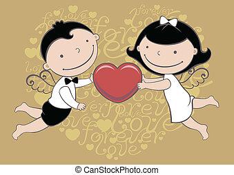 結婚式, ∥あるいは∥, カード, バレンタイン