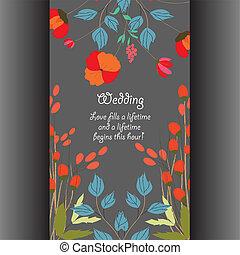 結婚式, ∥あるいは∥, カード, 招待