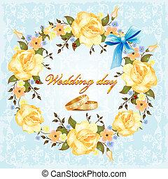 結婚式, カード