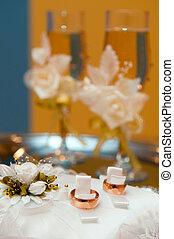 結婚式, ガラス