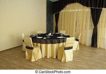 結婚式, テーブル