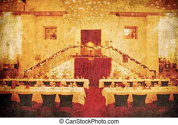 結婚式, 宴会